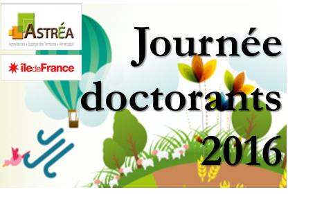 25 mars 2016 - Journée des doctorants du DIM ASTREA