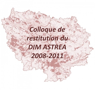 1er octobre 2012 : Colloque de restitution du DIM ASTREA 2008 - 2011