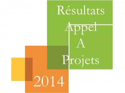 Résultats des appels à projets 2014