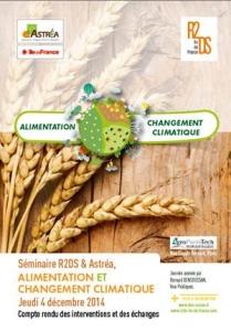 Compte-rendu Séminaire Alimentation Changement Climatique DIM ASTREA R2DS